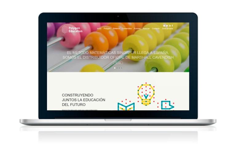 Proyecto Web WordPress Polygon Education
