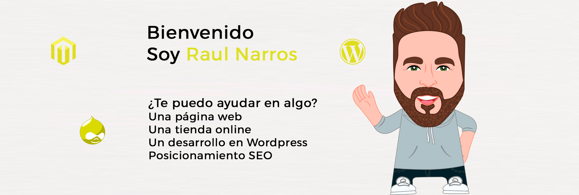 RN programación web en Wordpress