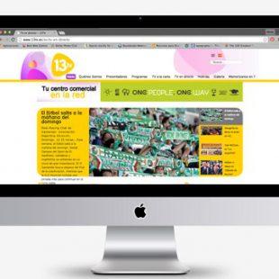 Rediseño de página web en CMS #joomla de 13tv.es
