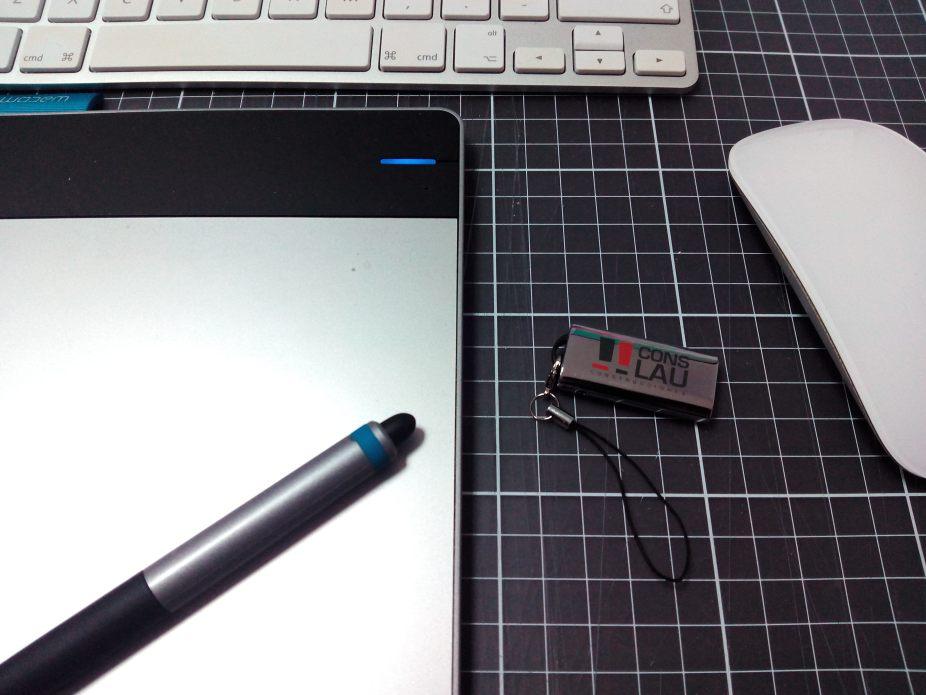 USB Personalizado con PDF permanente para Coslau