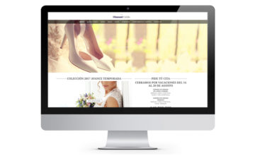 Diammant Tafalla, web desarrollada en WordPress