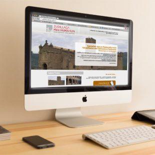 Microsite en #Wordpress en francés para Construcciones Zubillaga