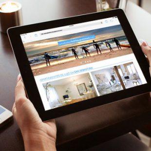 Diseño Web en Wordpress San Sebastian Holiday Apartments