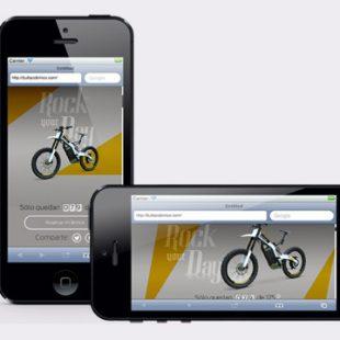Proyecto maquetación Responsive de la web Bultaco Brinco