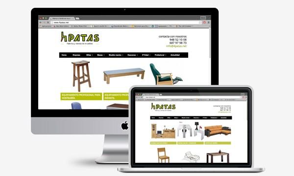 Portal de productos en #WordPress para 4Patas