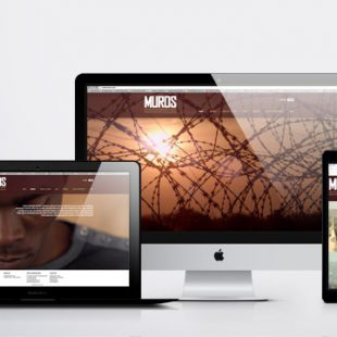 Diseño página web Walls/Muros