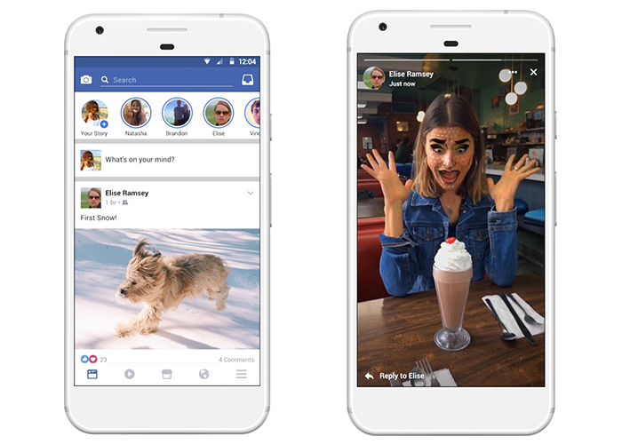 Facebook Stories estarán disponibles para Fan Pages