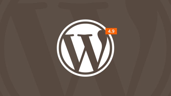 Wordpress 4.9 será publicado el 14 de noviembre